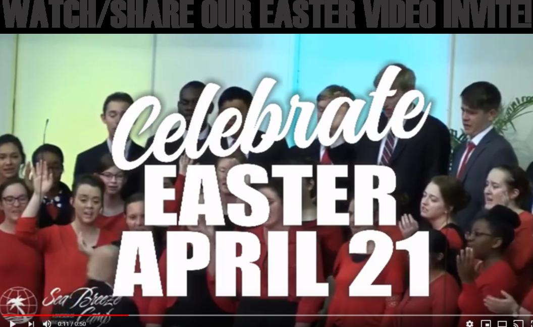EASTER VIDEO THUMBNAIL