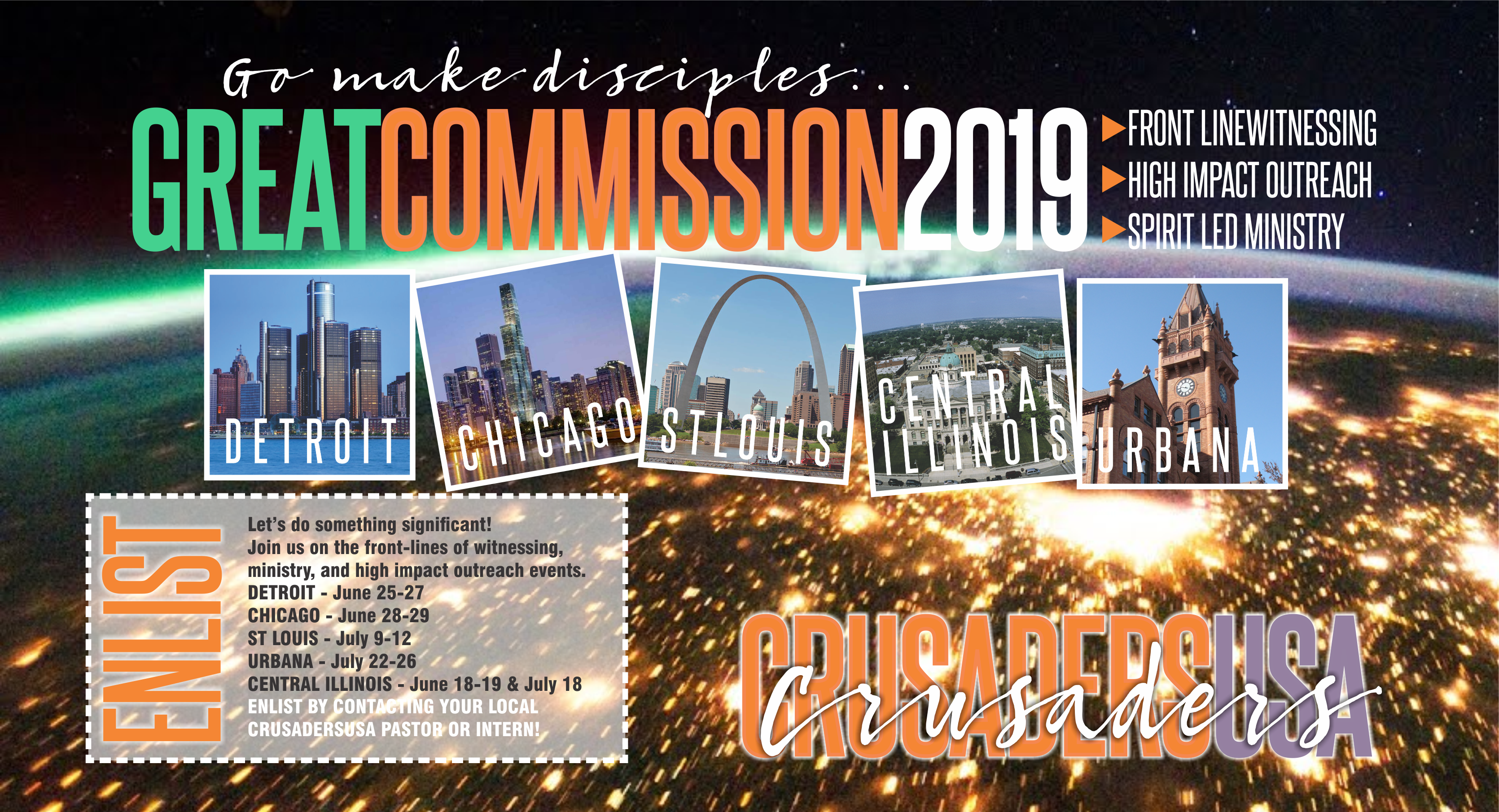 Great Commission 2019Welcome to Faith Community