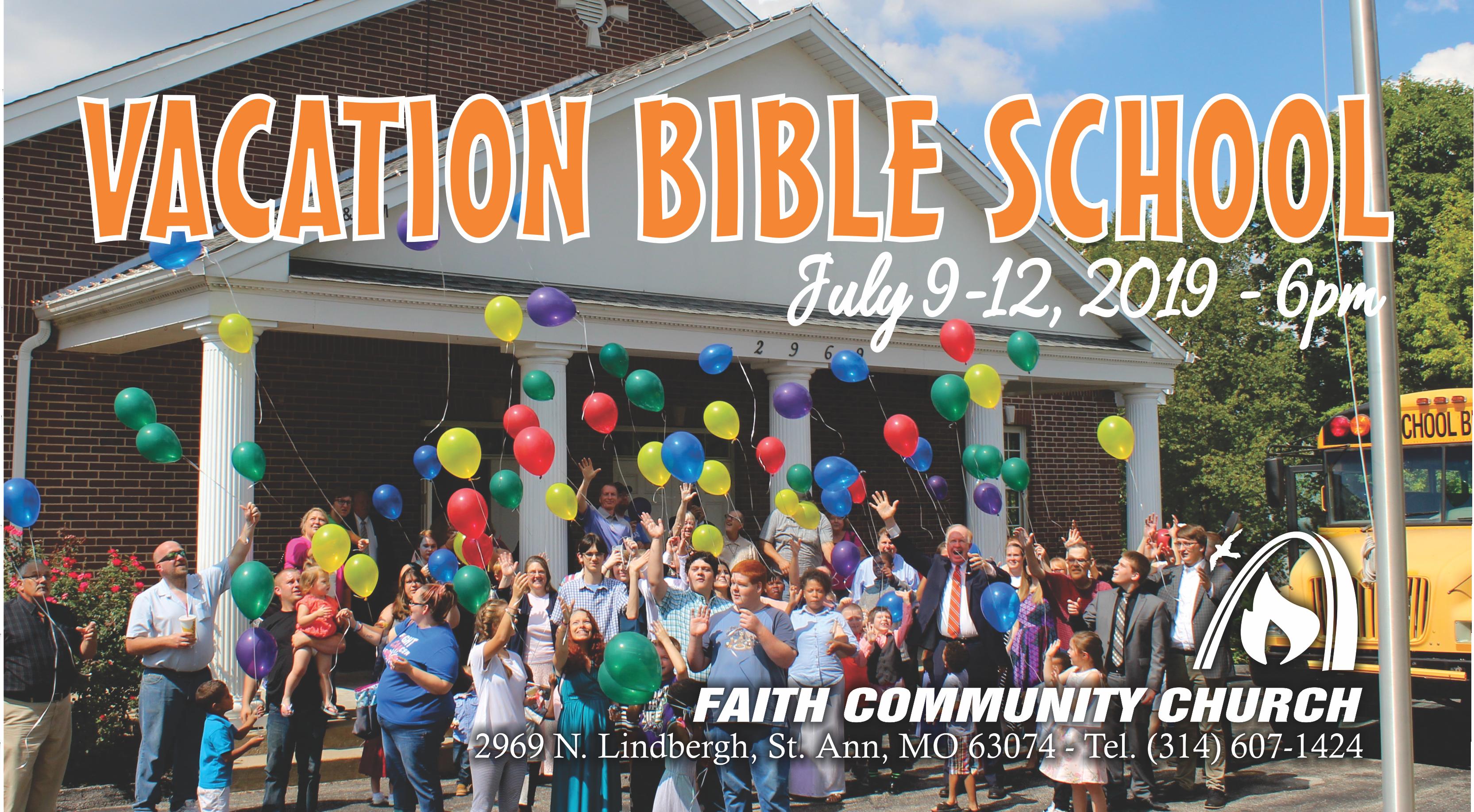VACATION BIBLE SCHOOL 2019CHILDREN LOVE FCC!